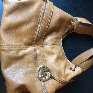Michael Kors Camel Shoulder Bag
